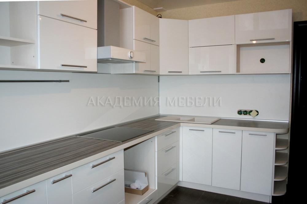 белая угловая кухня купить в томске фото и цена